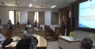 Talk on 'New Framework Guidelines and Data Validation & Verification (DVV) Process for NAAC Accreditation' by Dr. Vishnukant S. Chatpalli, Adviser, National Assessment and Accreditation Council (NAAC)