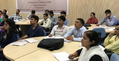 Faculty Training Programme on Honing Research Publications Skills